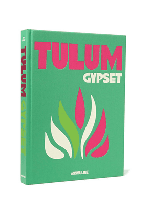 Assouline - Tulum Gypset Hardcover Book - Green