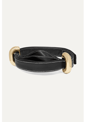 Ellery - Bremen Leather And Gold-tone Choker - one size