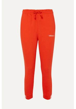 adidas Originals - Coeeze Organic Cotton-blend Jersey Track Pants - Red