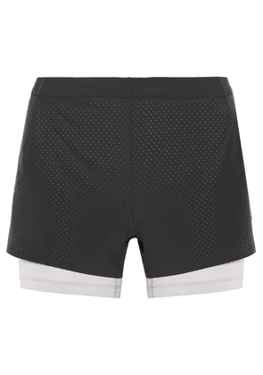Nike - Nikelab Aeroswift Mesh-trimmed Dri-fit Stretch-shell Shorts - Black