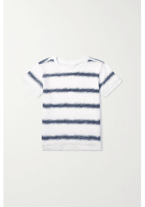 ATM Kids - Ages 1 - 5 Watermark Striped Slub Cotton-jersey T-shirt