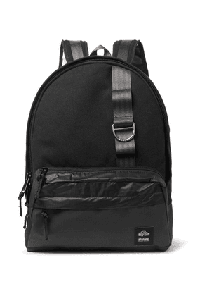 Sealand Gear - Tombie Cotton-canvas, Ripstop And Spinnaker Backpack - Black