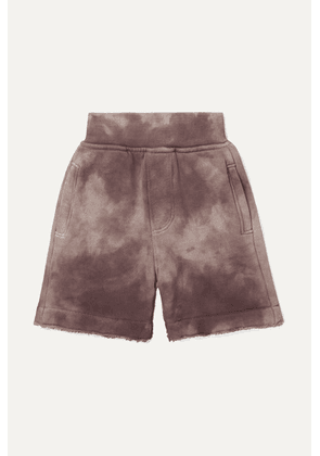 ATM Kids - Ages 1 - 5 Tie-dyed French Cotton-terry Shorts