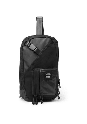 Sealand Gear - Choco Canvas And Ripstop Backpack - Black