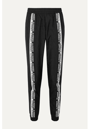adidas Originals - Striped Ripstop Track Pants - Black