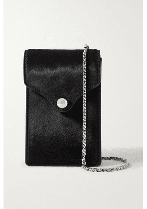 Ratio et Motus - Disco Mini Calf Hair Shoulder Bag - Black