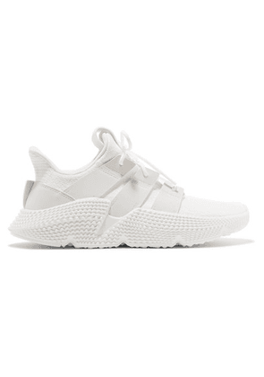 adidas Originals - Prophere Stretch-knit Sneakers - White
