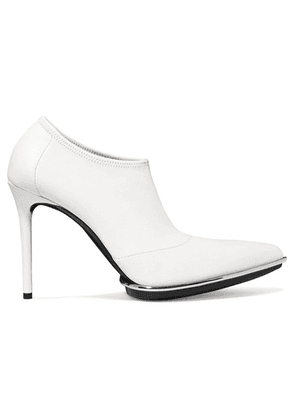 Alexander Wang - Cara Leather Ankle Boots - White
