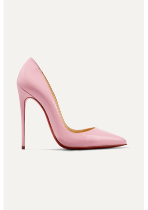 Christian Louboutin - So Kate 120 Patent-leather Pumps - Baby pink
