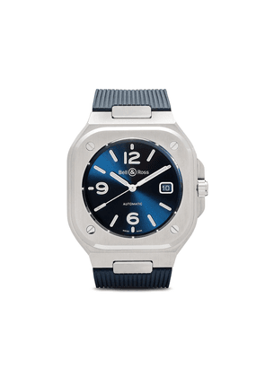 Bell & Ross BR 05 Blue Steel 40mm - BLUE AND SILVER GREY