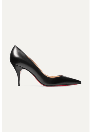Christian Louboutin - Clare 80 Leather Pumps - Black