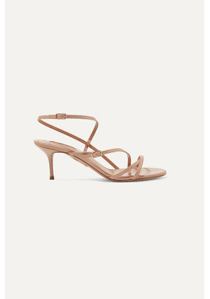 Aquazzura - Carolyne 60 Leather Sandals - IT37