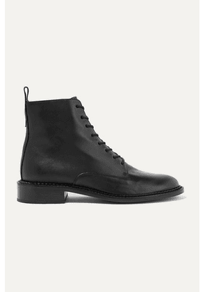 Vince - Cabria Leather Ankle Boots - Black