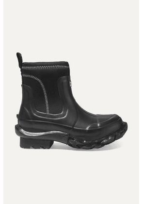 Stella McCartney - + Hunter Rubber And Yulex Ankle Boots - Black