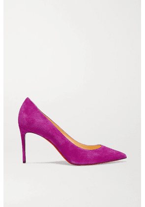 Christian Louboutin - Kate 85 Suede Pumps - Pink