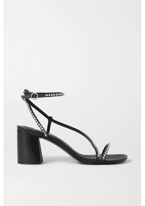 3.1 Phillip Lim - Drum Crystal-embellished Leather Sandals - Black