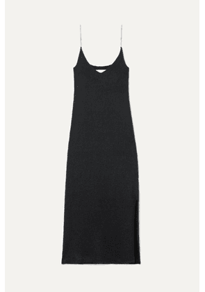 3.1 Phillip Lim - Crystal-embellished Knitted Midi Dress - Black