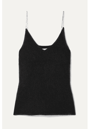3.1 Phillip Lim - Crystal-embellished Knitted Tank - Black