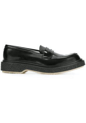 Adieu Paris chunky sole penny loafers - Black