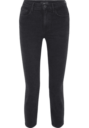 3x1 - W4 Colette Cropped High-rise Slim-leg Jeans - Black