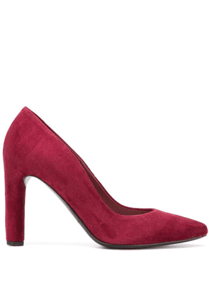 Del Carlo pointed toe pumps - Red