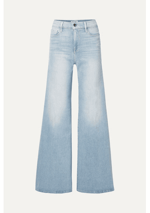 FRAME - Le Palazzo High-rise Wide-leg Jeans - Light denim