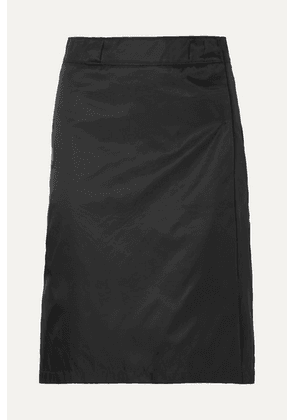 Prada - Shell Wrap Skirt - Black