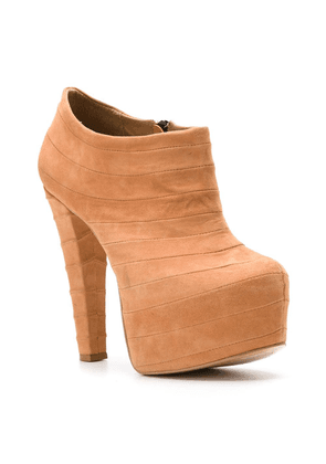 Andrea Bogosian suede ankle boots - Brown