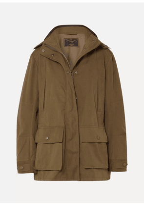 James Purdey & Sons - Woodcock Shell Hooded Coat - Green