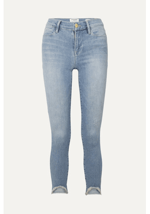 FRAME - Le High Skinny Jeans - Light denim