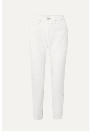 rag & bone - Buckley Cropped Cotton-blend Twill Tapered Pants - White