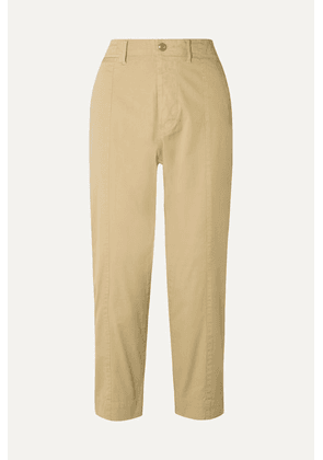 Alex Mill - Cotton-blend Twill Tapered Pants - Beige