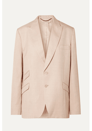 Stella McCartney - Oversized Woven Blazer - Blush