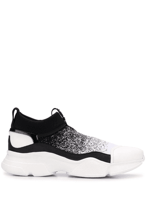 Bruno Bordese chunky slip-on trainers - BIANCO/NERO