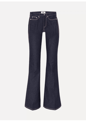 Eytys - Oregon Raw High-rise Flared Jeans - Indigo