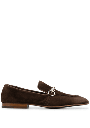 Cesare Paciotti horsebit-embellished loafers - Brown