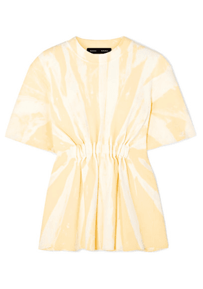 Proenza Schouler - Tie-dyed Stretch-knit Top - Yellow