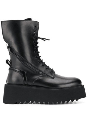 Bruno Bordese Amphibian boots - Black