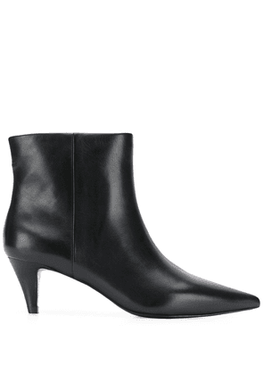 Ash leather ankle boots - Black