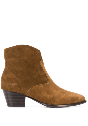 Ash pointed ankle boots - Brown