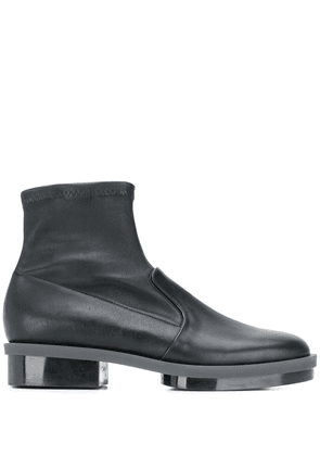 Clergerie roll ankle boots - Black