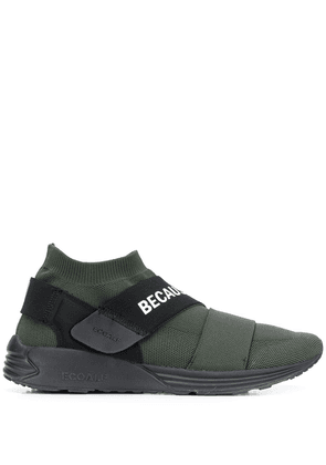 Ecoalf low-top logo strap sneakers - Green