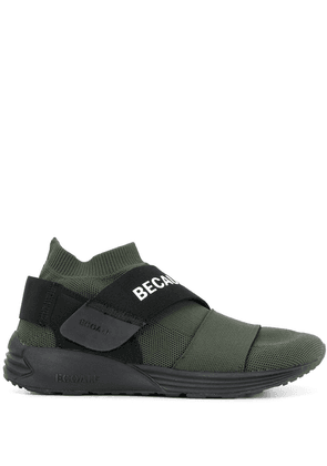 Ecoalf low top logo strap sneakers - Green