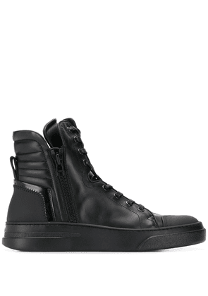 Bruno Bordese lace-up high-top sneakers - Black