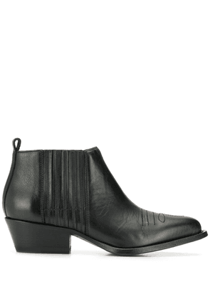 Buttero ankle boots - Black