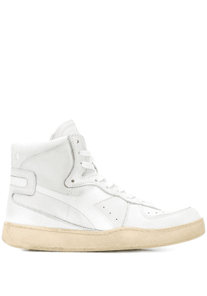 Diadora lace-up high-top sneakers - White