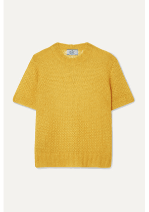 Prada - Mohair-blend Sweater - Yellow