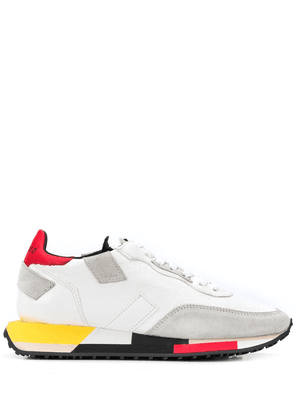 Ghoud colour block sneakers - White