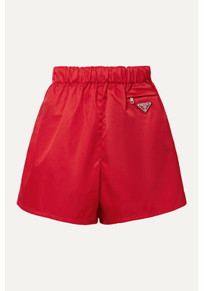 Prada - Nylon Shorts - Red