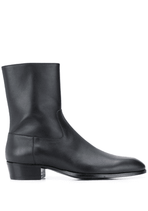 Barbanera zipped ankle boots - Black